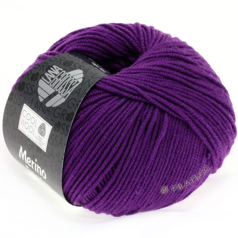 Lana Grossa COOL WOOL   Uni/Melange/Neon | 0547-rood violet