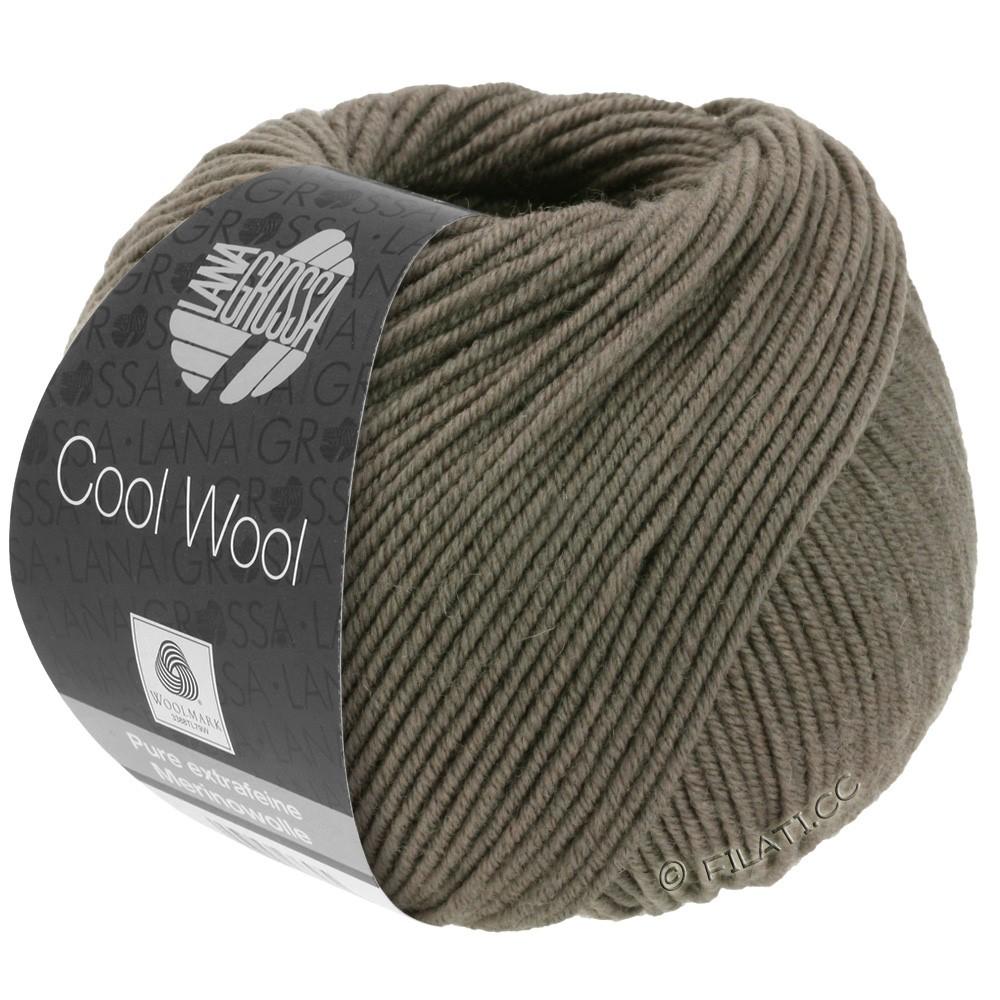 Lana Grossa COOL WOOL   Uni/Melange/Neon | 0558-grijs bruin