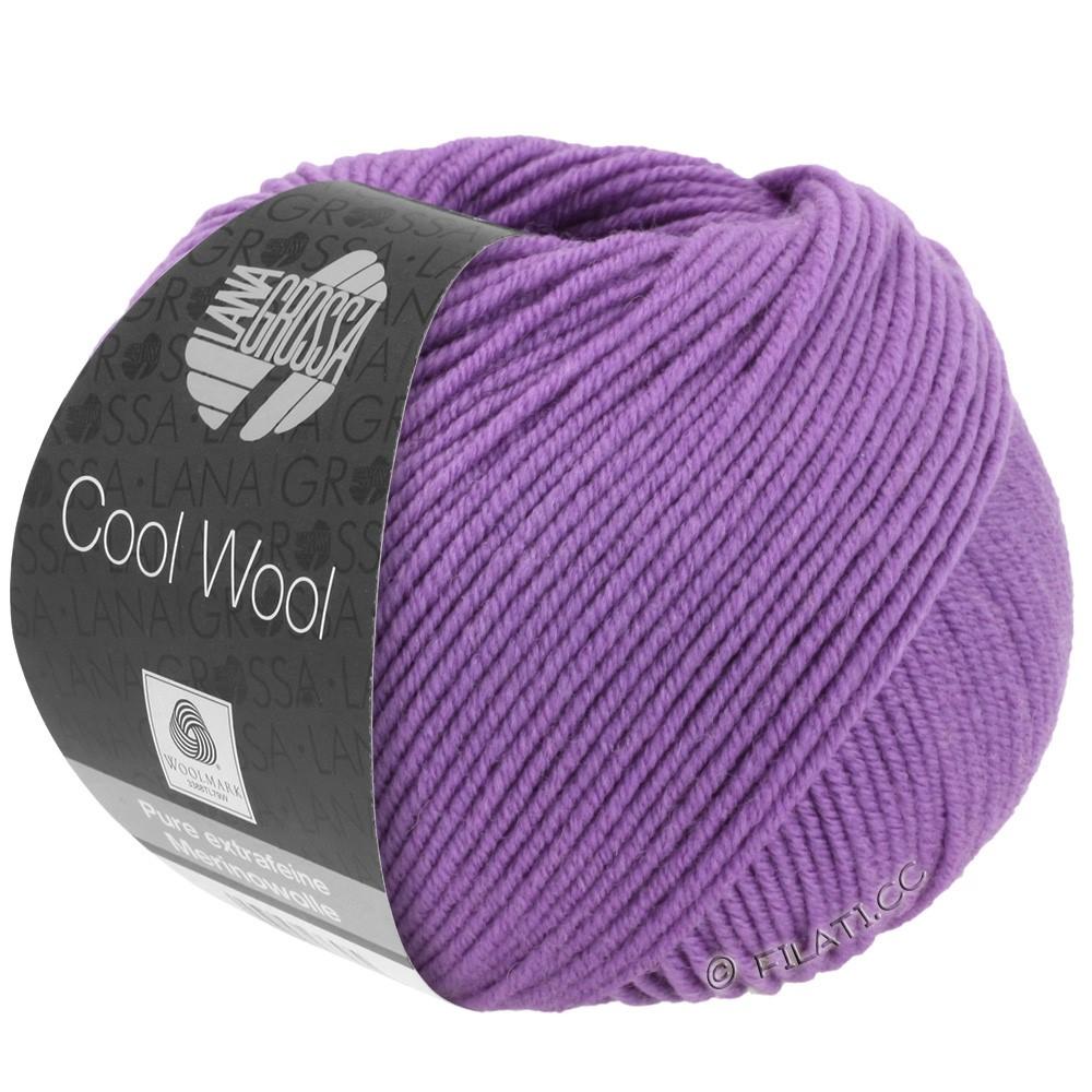Lana Grossa COOL WOOL   Uni/Melange/Neon | 0592-donker lila