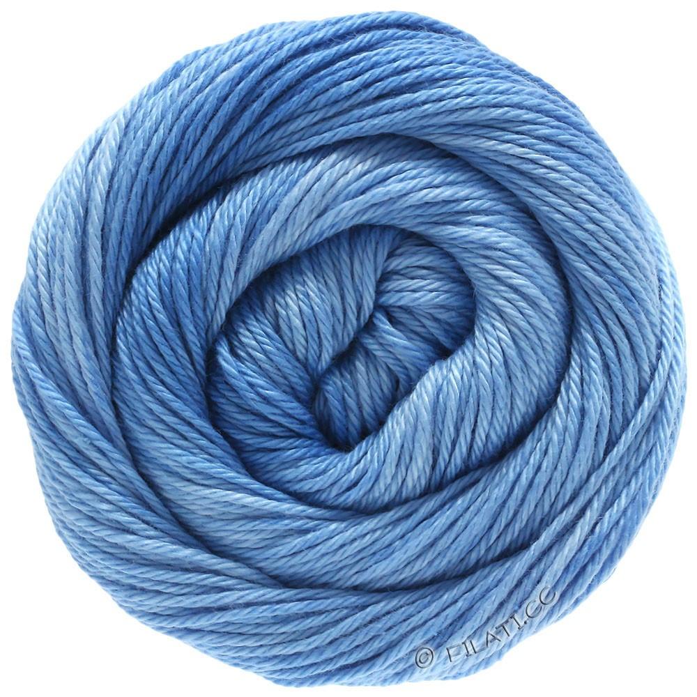 Lana Grossa COTONE Degradé | 208-licht blauw/grijs blauw/jeans