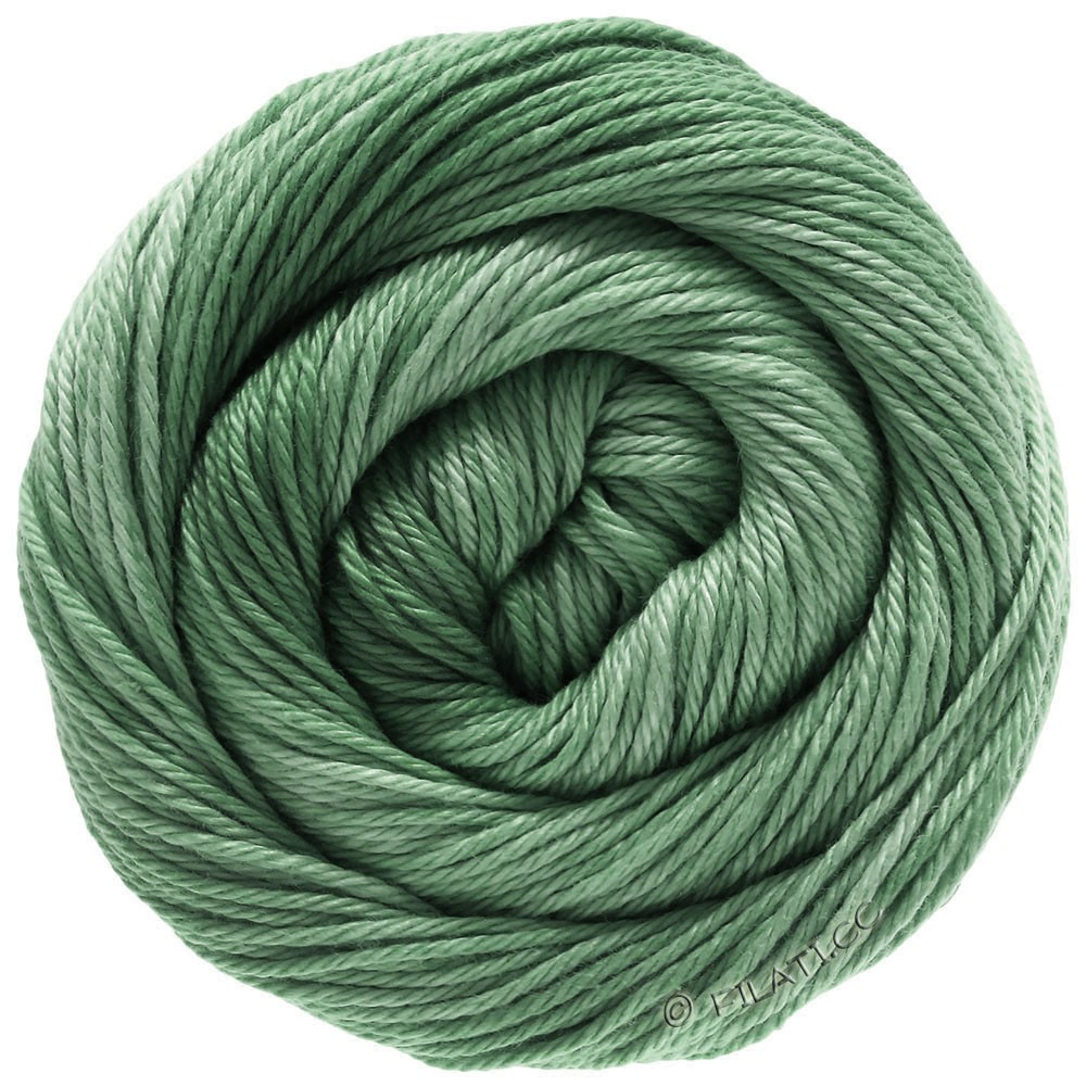 Lana Grossa COTONE Degradé | 211-grijs groen/resedagroen
