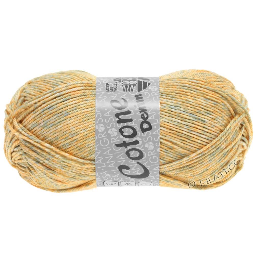 Lana Grossa COTONE  Print/Denim | 706-beige/zachtgrijs