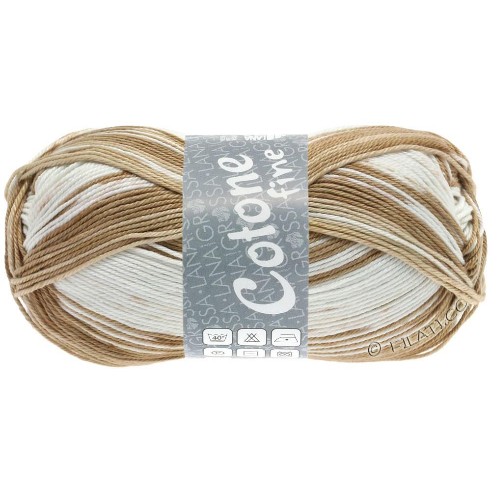 Lana Grossa COTONE FINE Print | 808-licht beige/zand/noga