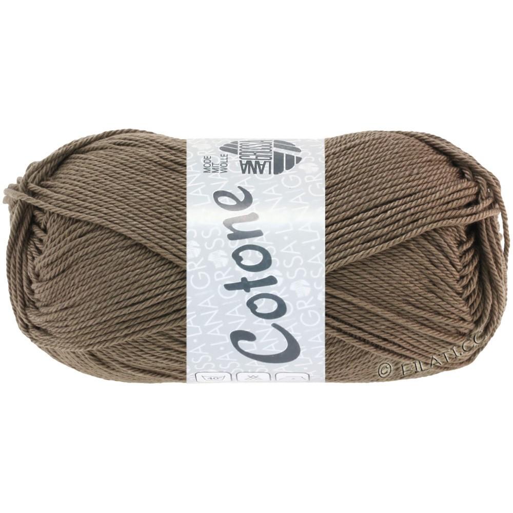 Lana Grossa COTONE | 30-grijs bruin