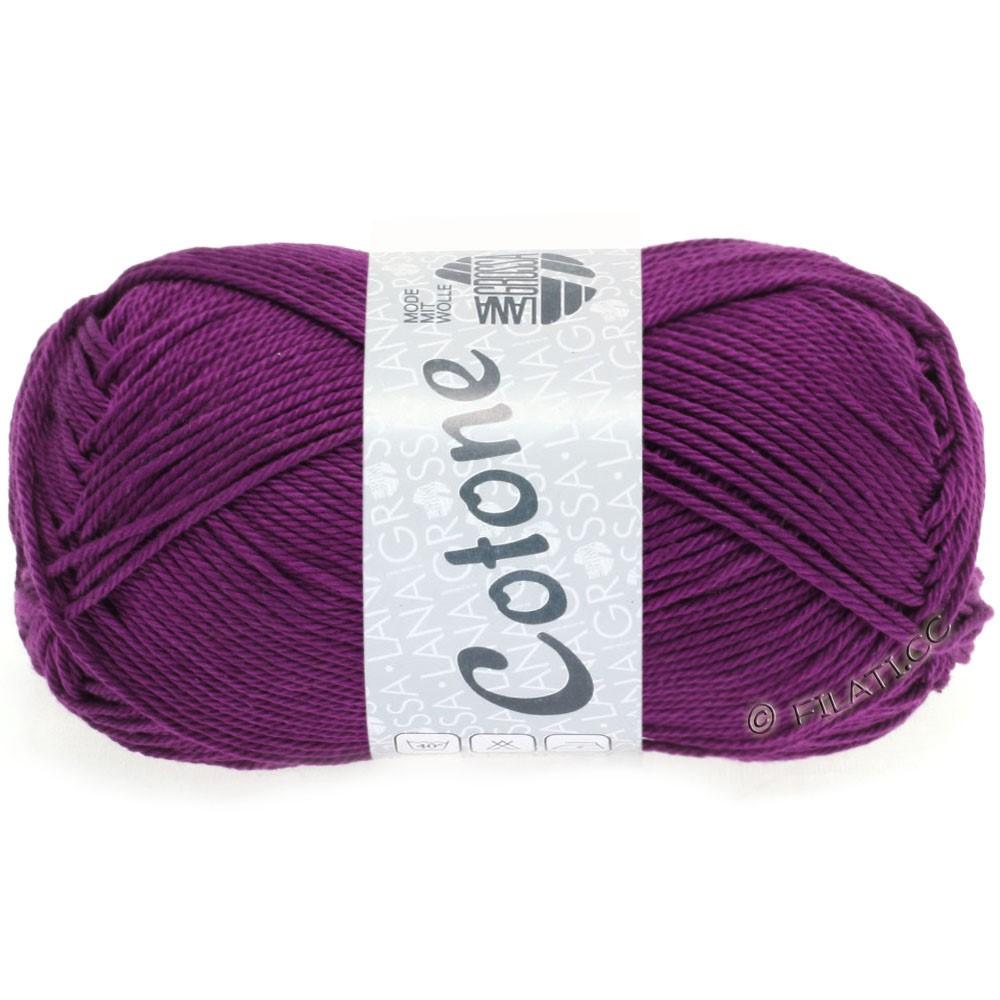 Lana Grossa COTONE   45-donker violet