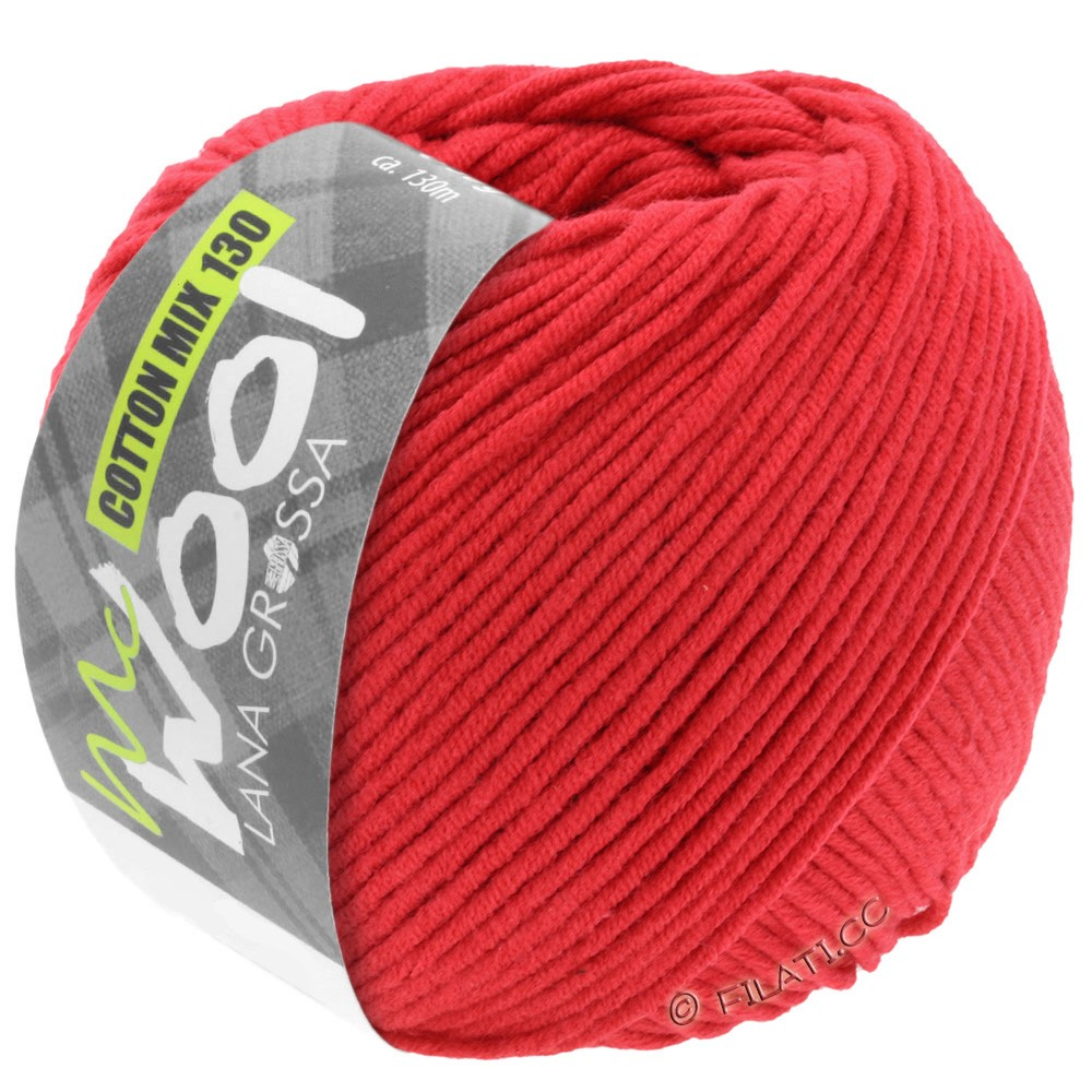 Lana Grossa COTTON MIX 130 (McWool) | 103-rood