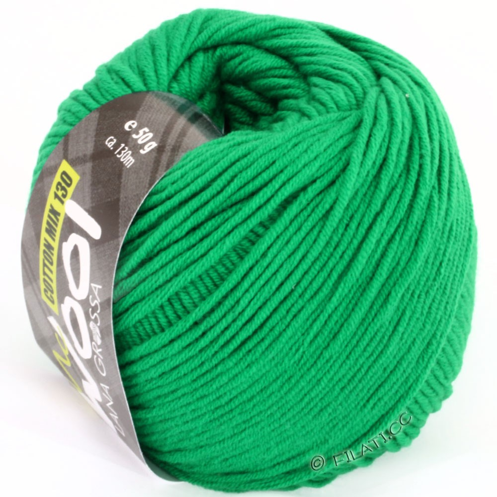 Lana Grossa COTTON MIX 130 (McWool) | 110-groen