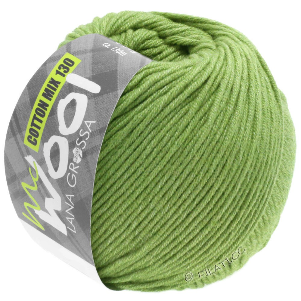 Lana Grossa COTTON MIX 130 (McWool) | 152-limegroen