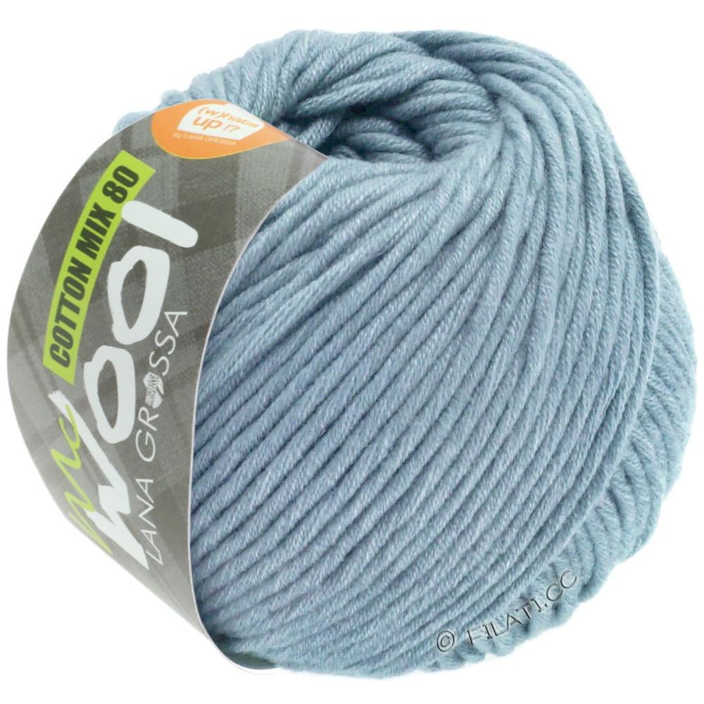 Lana Grossa COTTON MIX 80 (McWool) | 550-licht blauw