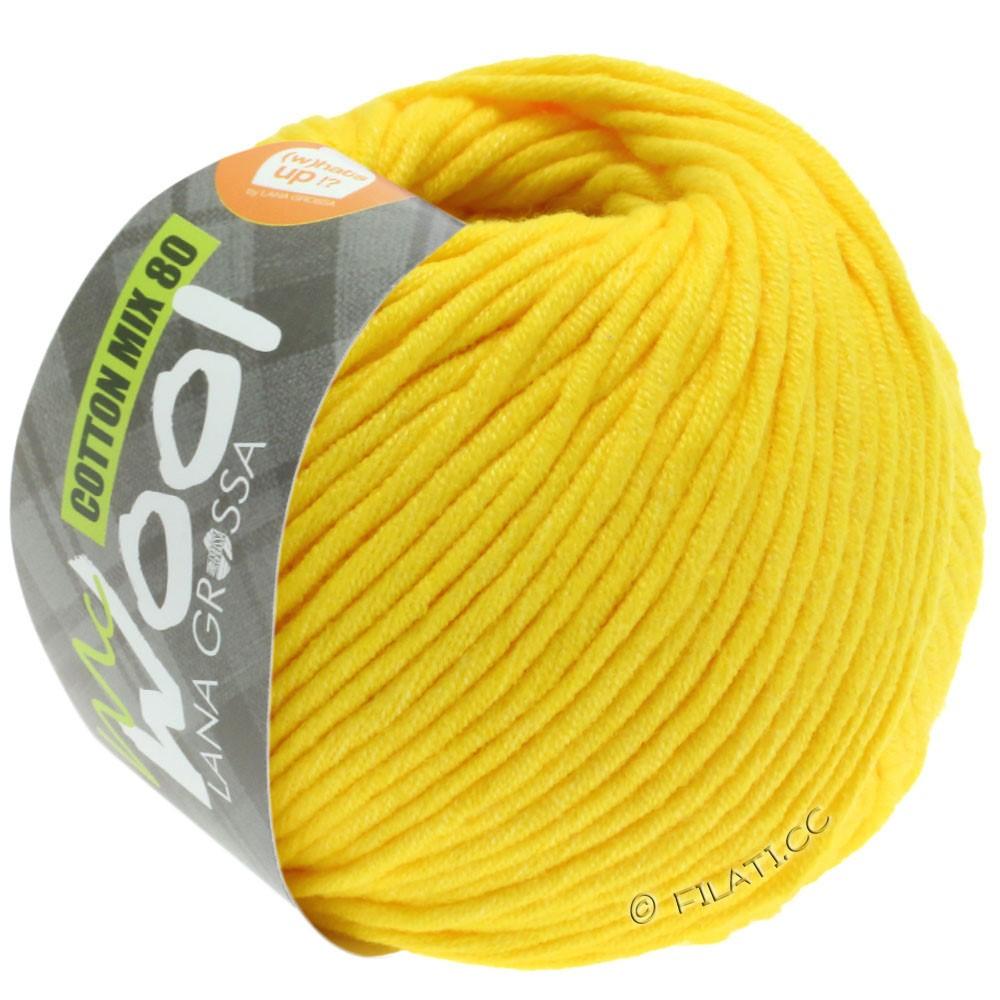 Lana Grossa COTTON MIX 80 (McWool) | 551-geel