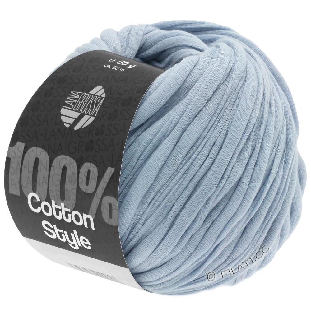 Lana Grossa COTTON STYLE   07-licht blauw