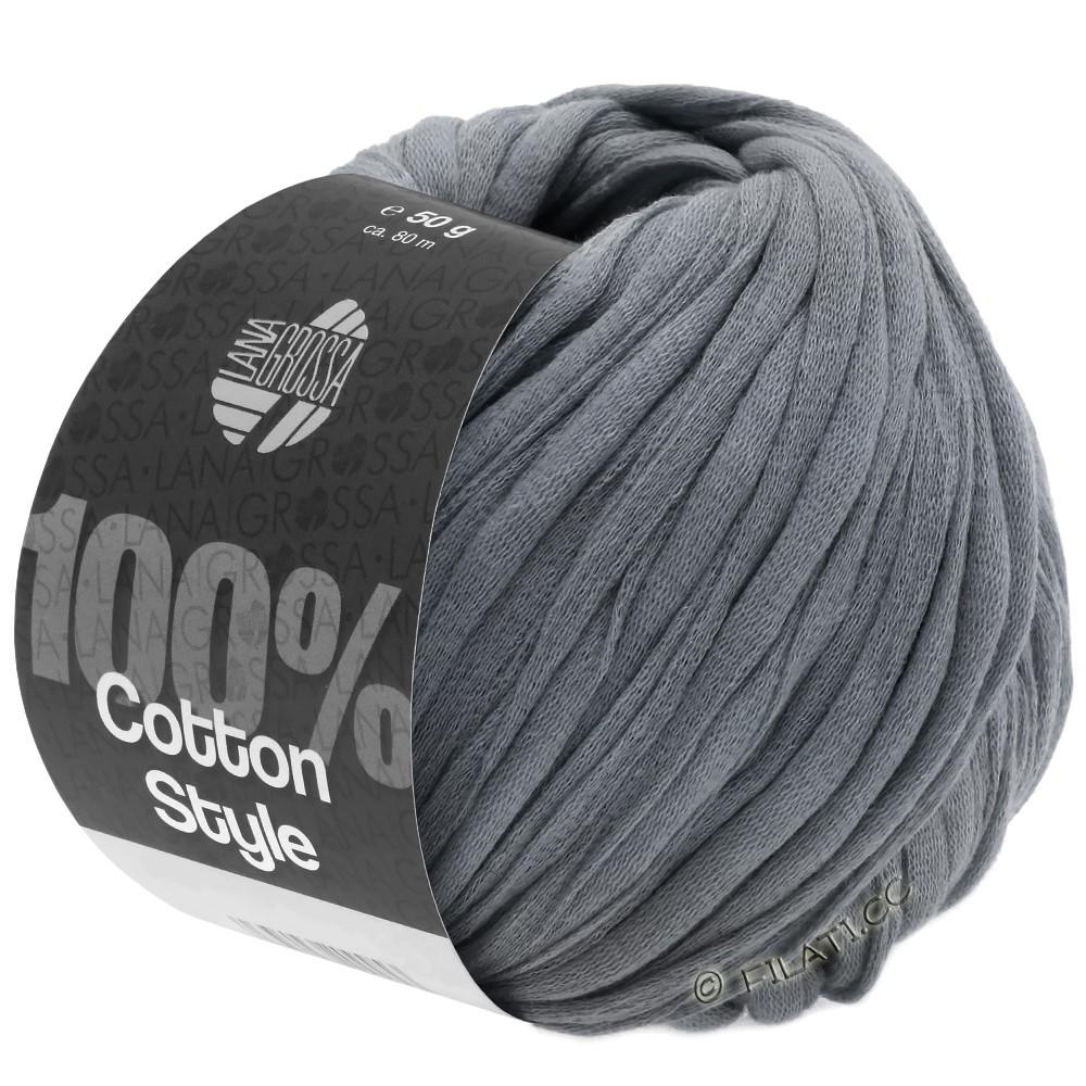 Lana Grossa COTTON STYLE   12-donker grijs