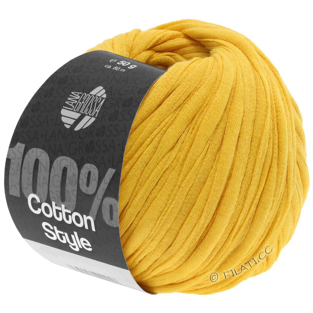 Lana Grossa COTTON STYLE   15-geel