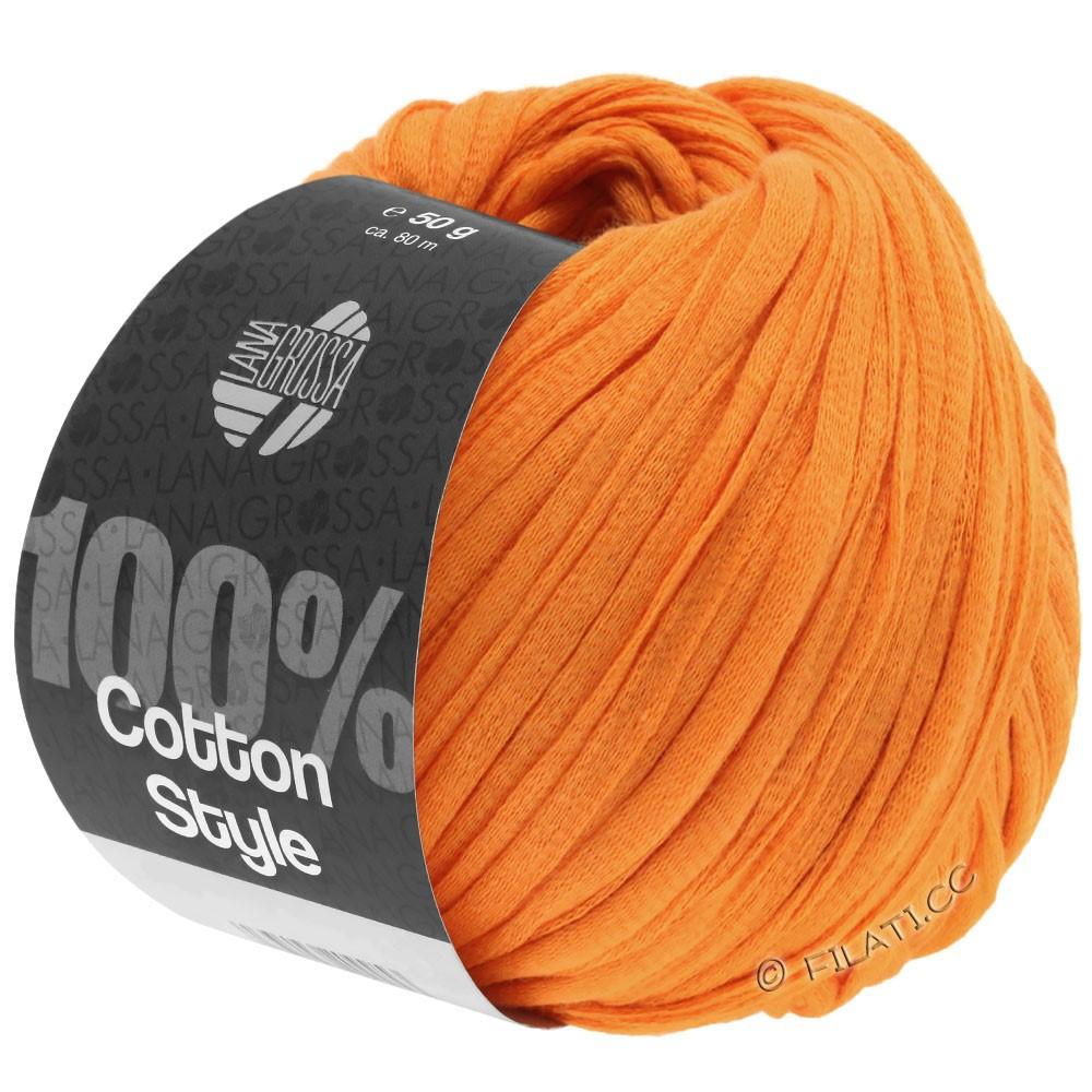 Lana Grossa COTTON STYLE   16-oranje