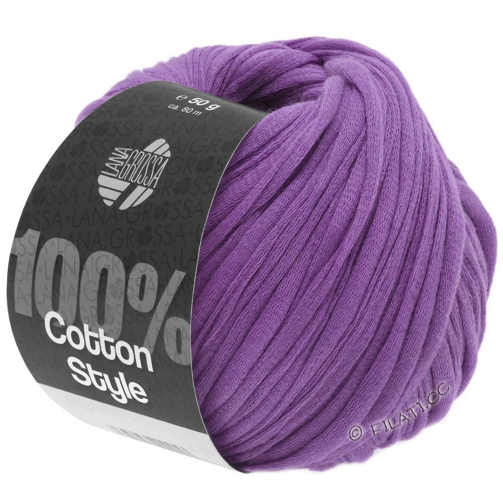 Lana Grossa COTTON STYLE   19-violet