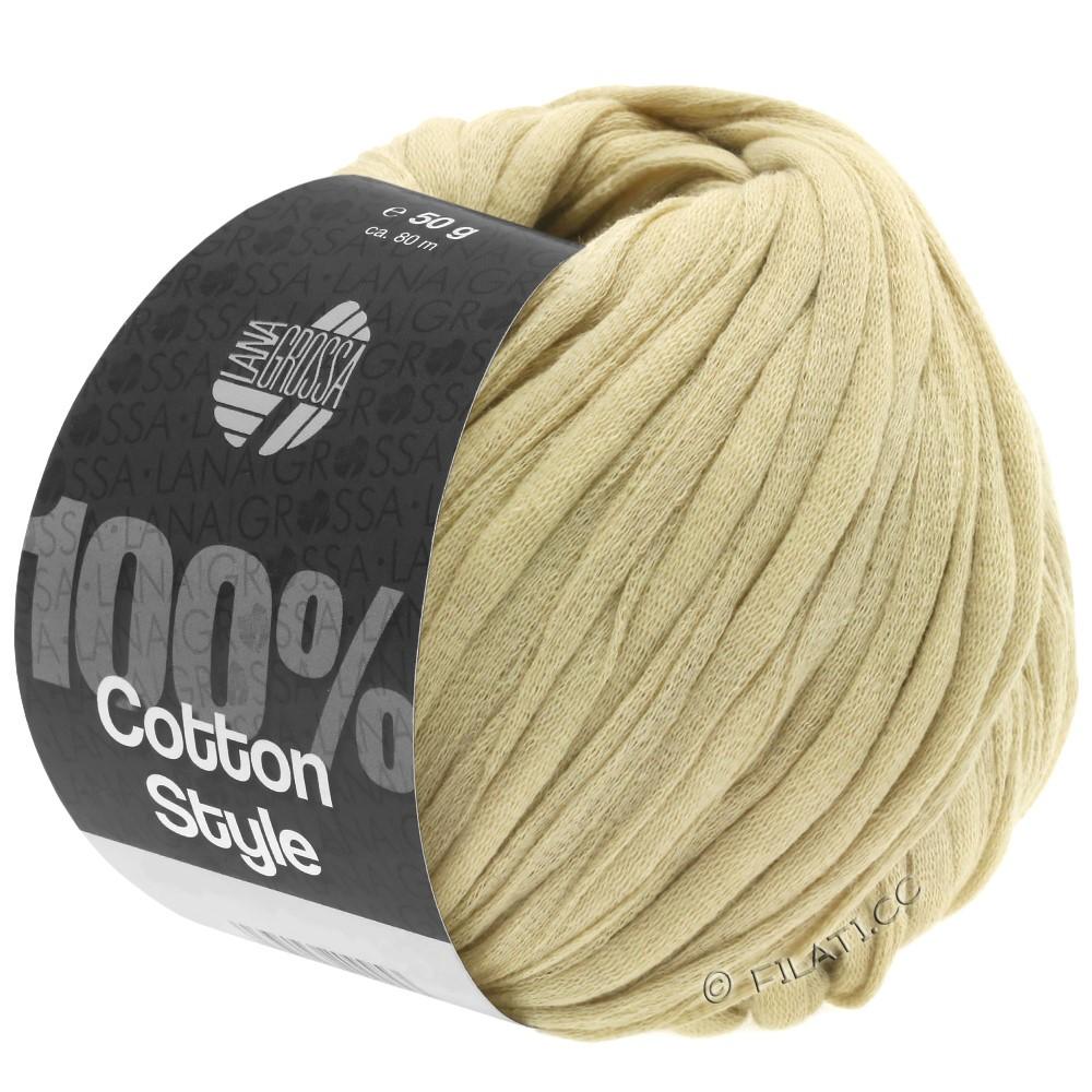 Lana Grossa COTTON STYLE   25-beige