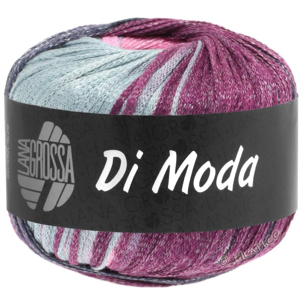 Lana Grossa DI MODA   02-licht grijs/rose/pruim/blauw violet