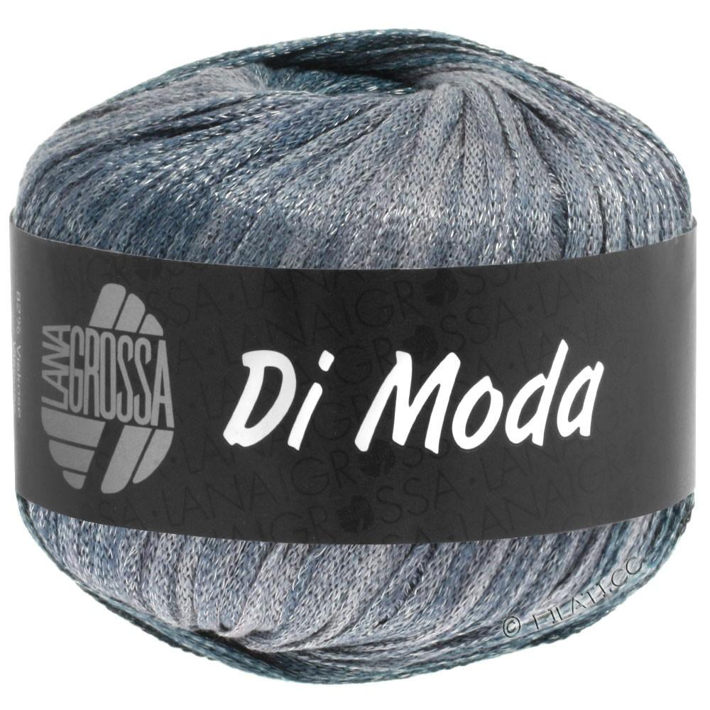 Lana Grossa DI MODA   07-wit/zachtblauw/grijs blauw/donker grijs