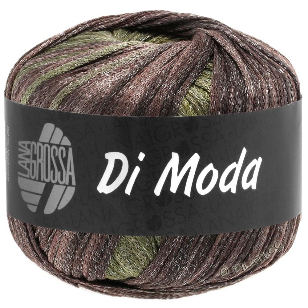 Lana Grossa DI MODA   14-licht olijf/donker olijf/grijs groen/braam