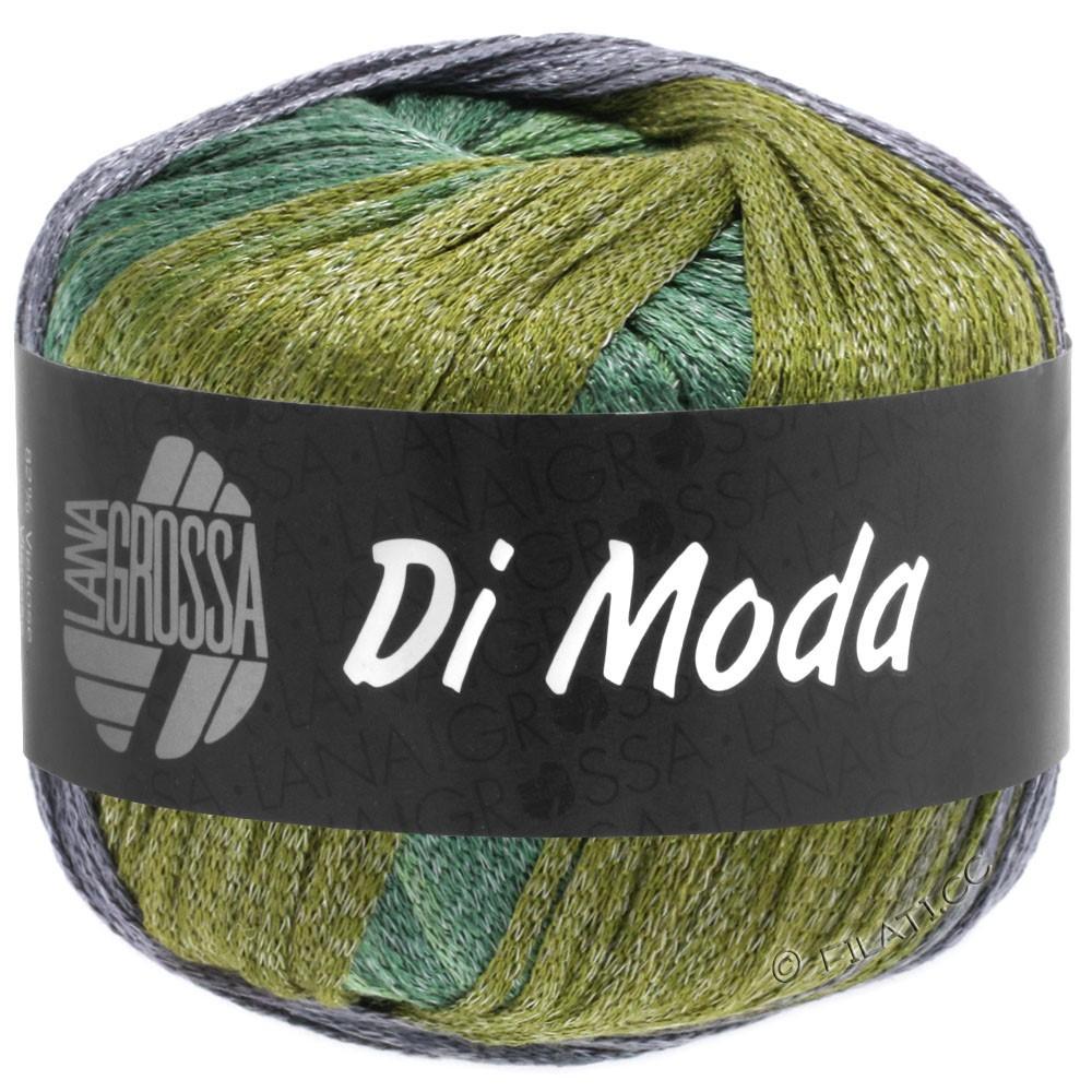 Lana Grossa DI MODA | 18-olijf/antieke violet/donker groen/midden groen