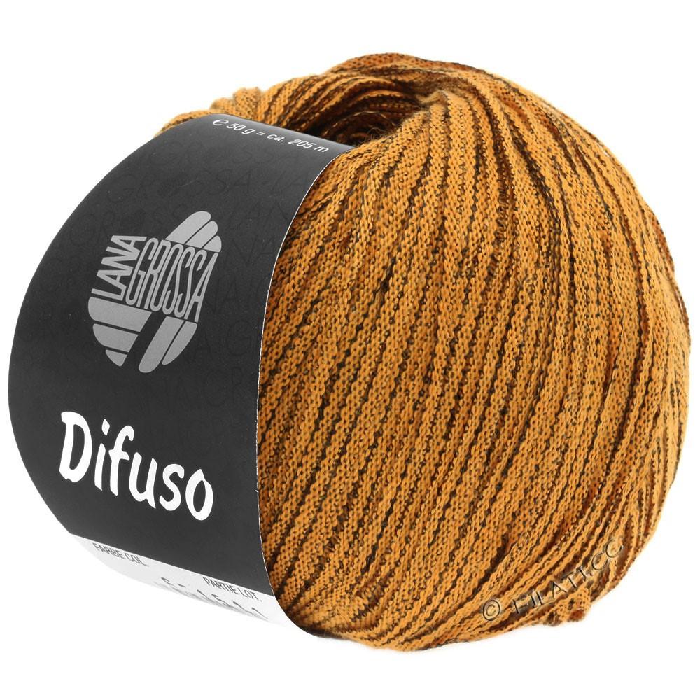 Lana Grossa DIFUSO | 02-oranje/zwart