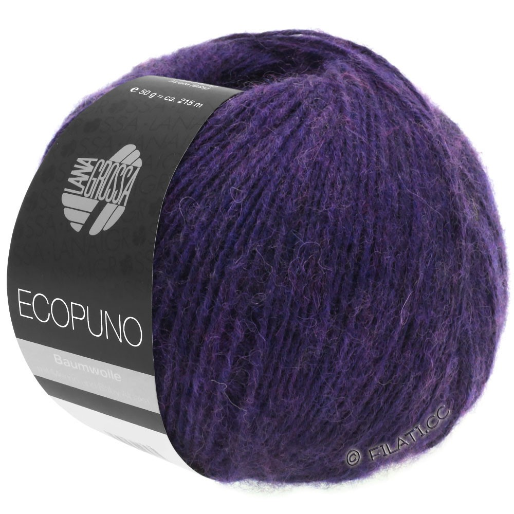 Lana Grossa ECOPUNO | 09-donker violet
