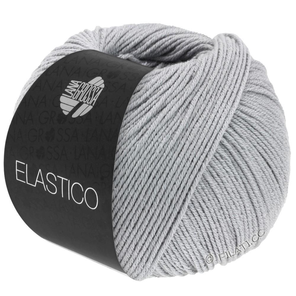 Lana Grossa ELASTICO  Uni/Print | 070-licht grijs