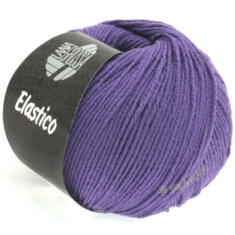 Lana Grossa ELASTICO  Uni/Print | 123-blauw violet