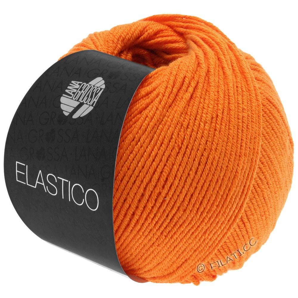 Lana Grossa ELASTICO  Uni/Print | 145-oranje