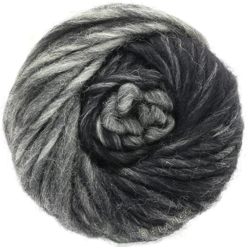 Lana Grossa FELTRO Degradé | 1304-licht grijs/grijs/zwart
