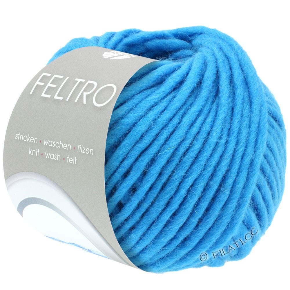 Lana Grossa FELTRO  Uni | 042-turkoois blauw