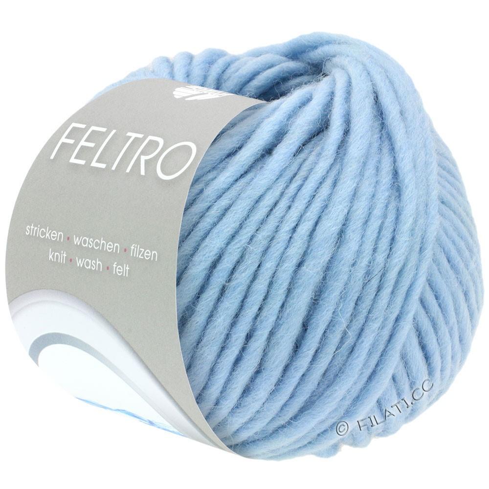 Lana Grossa FELTRO  Uni | 065-hemelsblauw