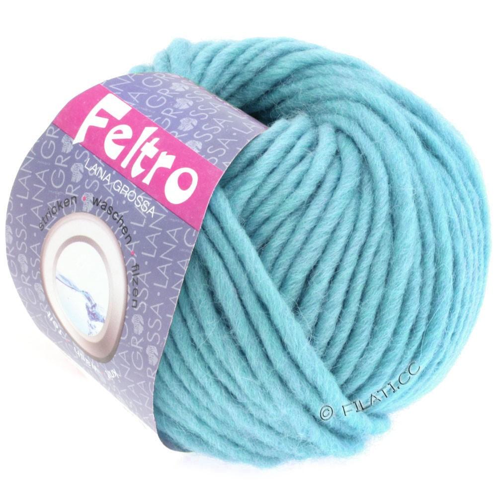 Lana Grossa FELTRO  Uni | 066-licht blauw