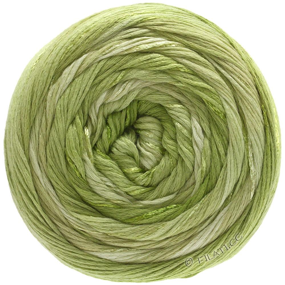 Lana Grossa GOMITOLO ESTATE | 308-licht olijf/lime/groenbeige/geelgroen