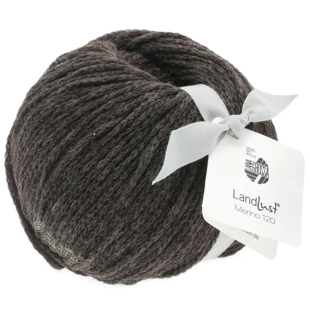 Lana Grossa LANDLUST MERINO 120 | 106-grijs bruin