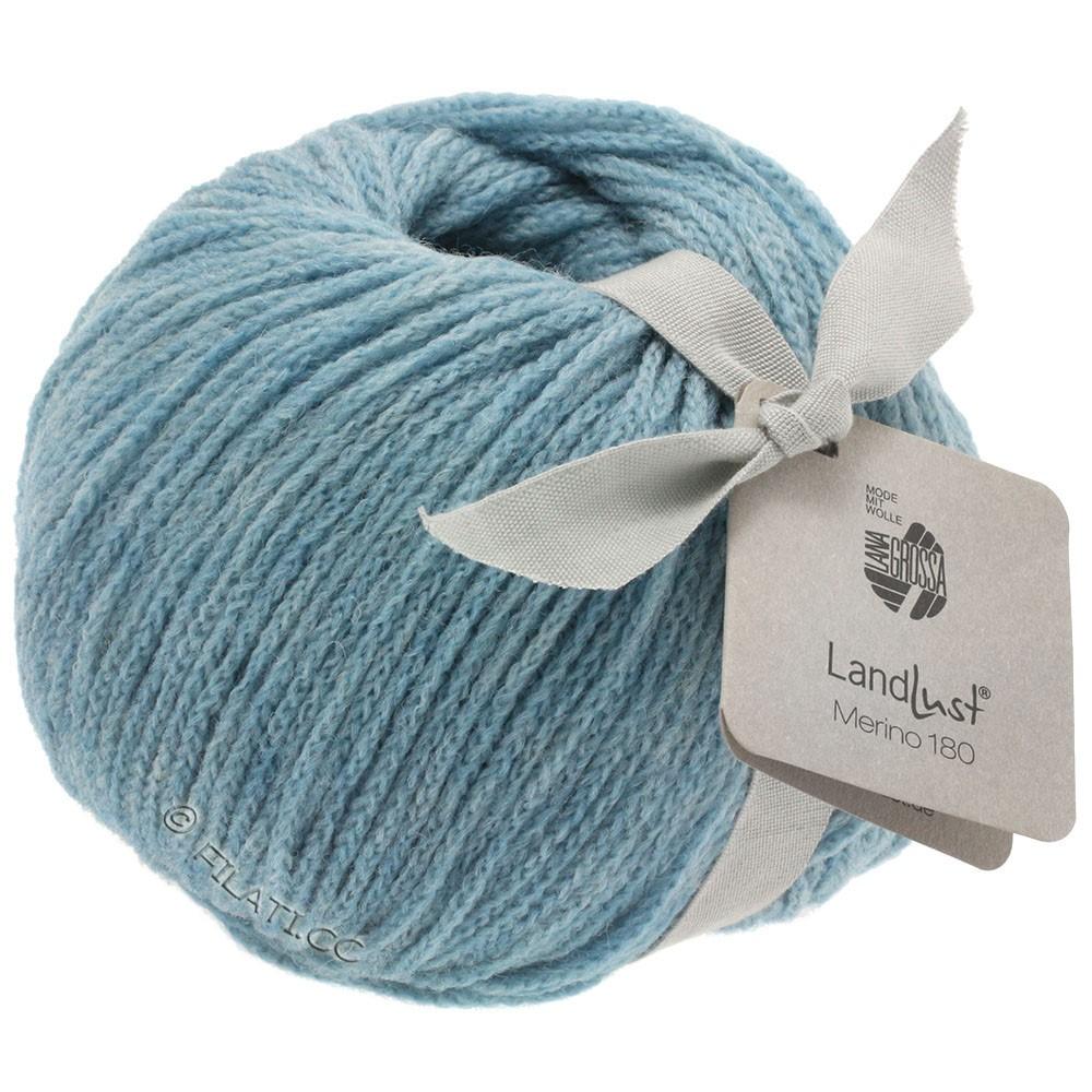 Lana Grossa LANDLUST MERINO 180 | 207-licht blauw