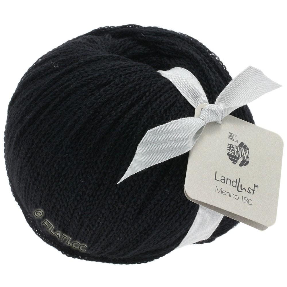 Lana Grossa LANDLUST MERINO 180 | 210-zwart
