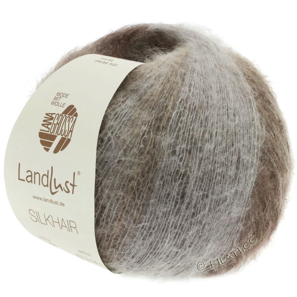 Lana Grossa LANDLUST SILKHAIR | 359-grège/bruingrijs/taupe/donker bruin