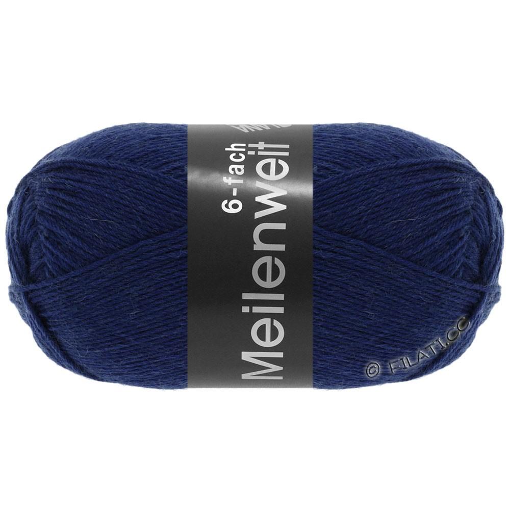 Lana Grossa MEILENWEIT 6-FACH 150g Uni | 8962-donker blauw