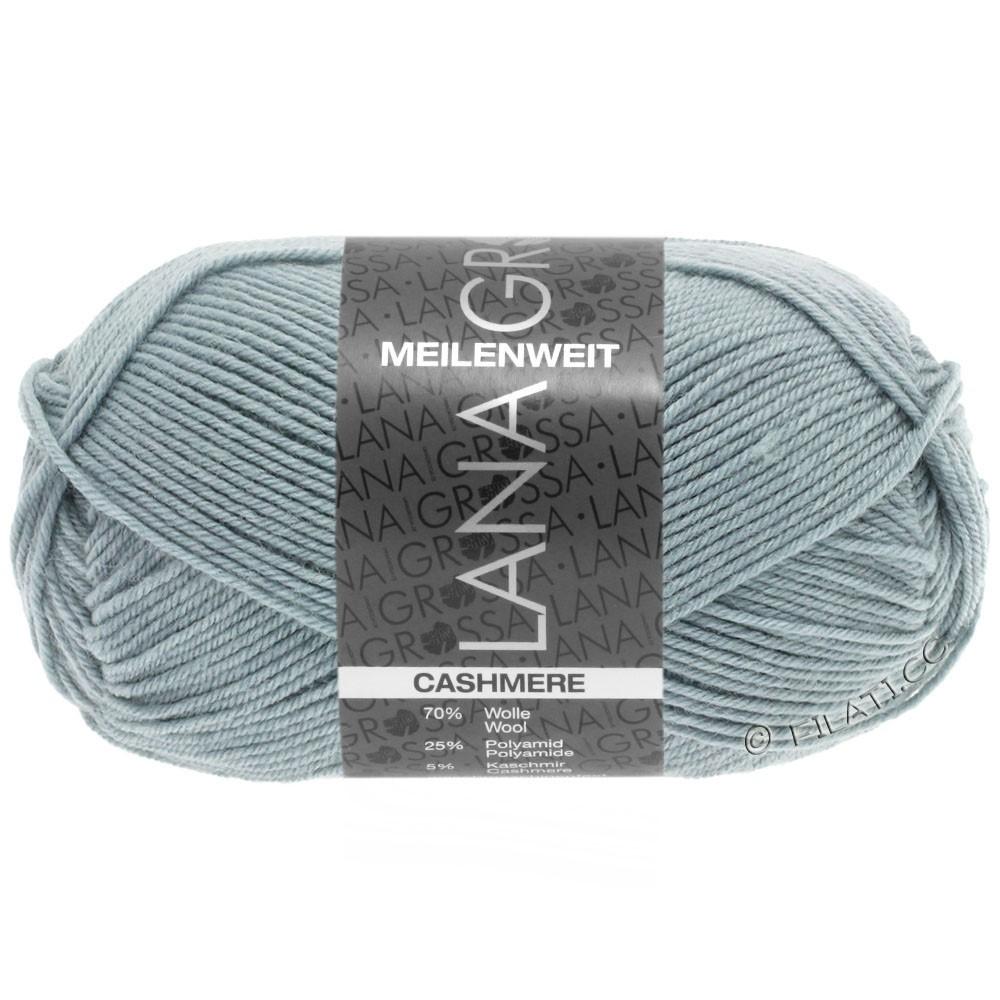 Lana Grossa MEILENWEIT 50g Cashmere | 17-grijs blauw