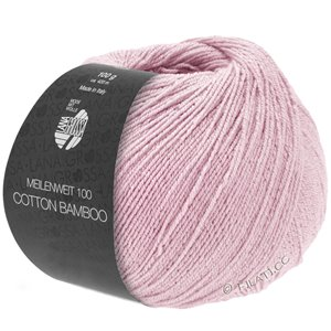 Lana Grossa MEILENWEIT 100g Cotton Bamboo | 01-rose