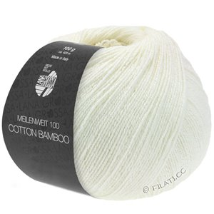 Lana Grossa MEILENWEIT 100g Cotton Bamboo | 09-wit