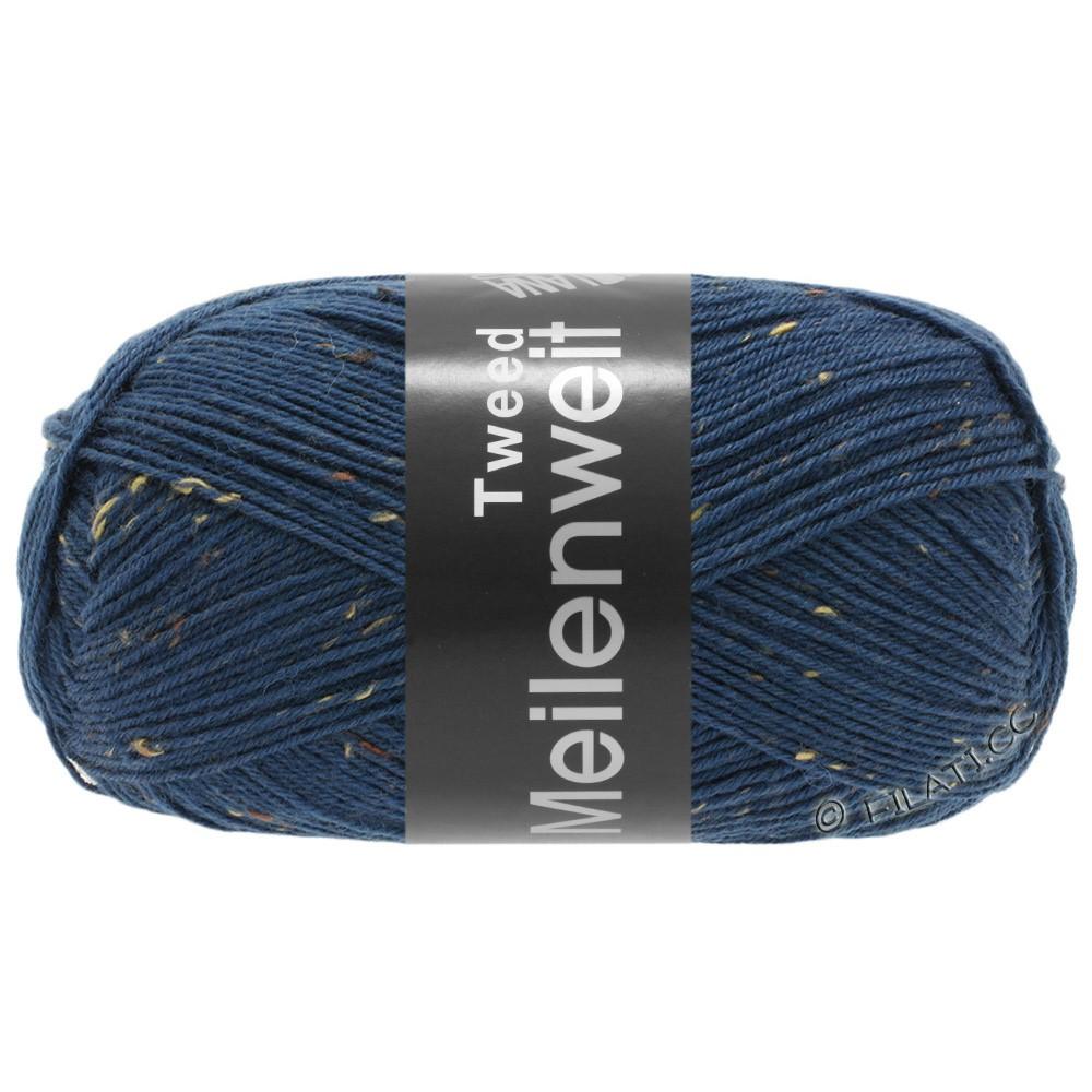 Lana Grossa MEILENWEIT 100g Tweed | 128-blauw