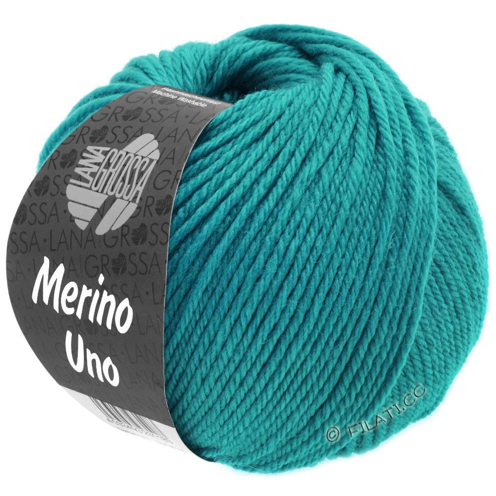Lana Grossa MERINO UNO | 07-turkoois blauw
