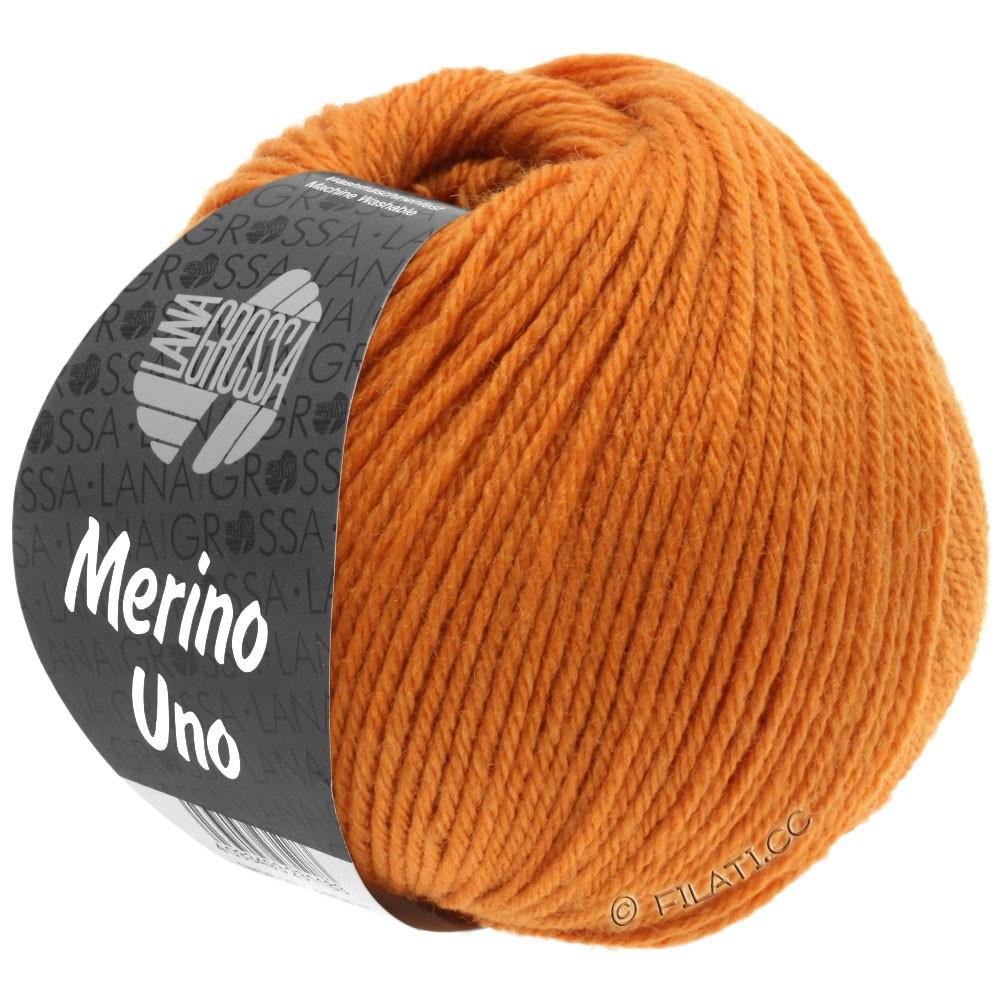 Lana Grossa MERINO UNO | 15-oranjebruin