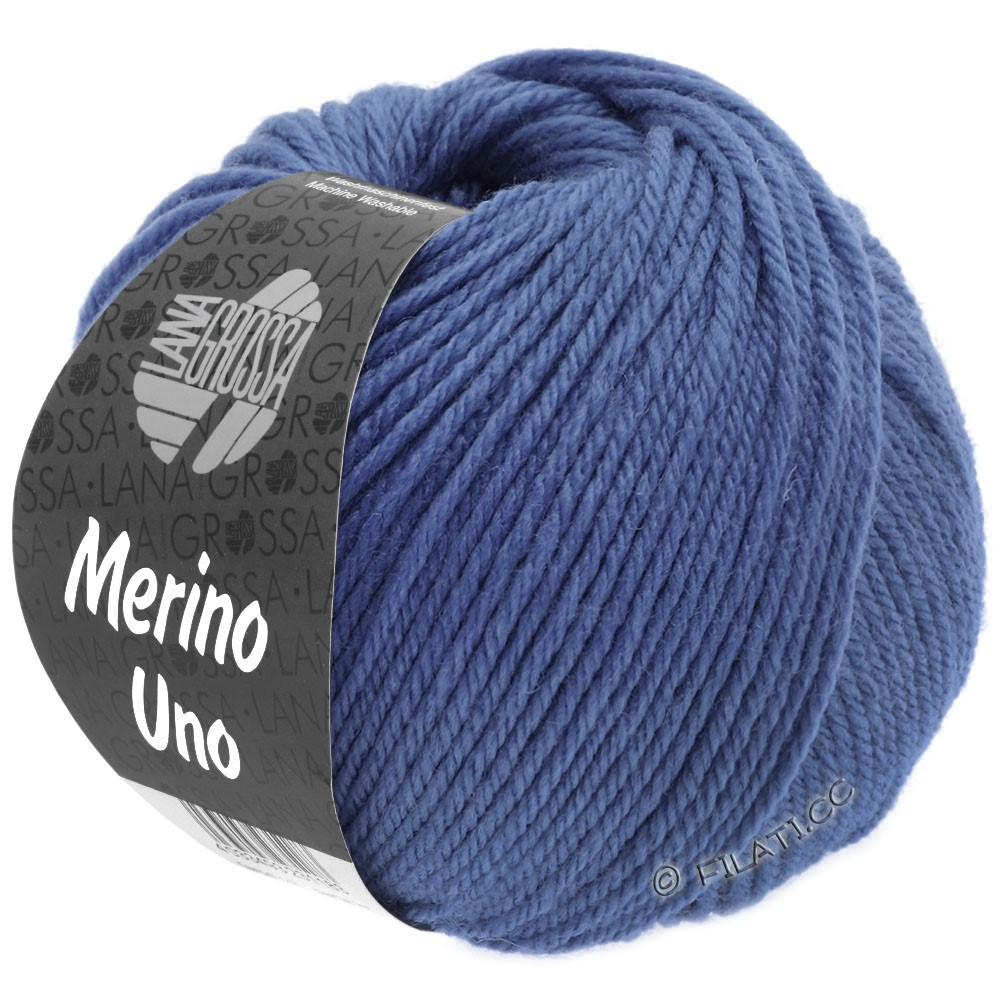 Lana Grossa MERINO UNO | 23-blauw paars