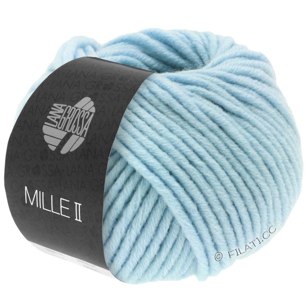 Lana Grossa MILLE II   085-licht blauw