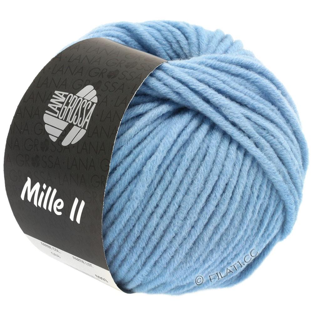 Lana Grossa MILLE II   088-hemelsblauw