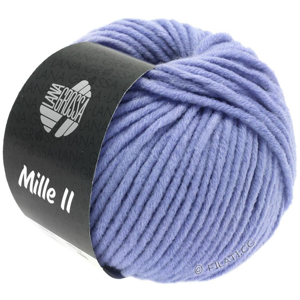 Lana Grossa MILLE II   090-shiner blauw