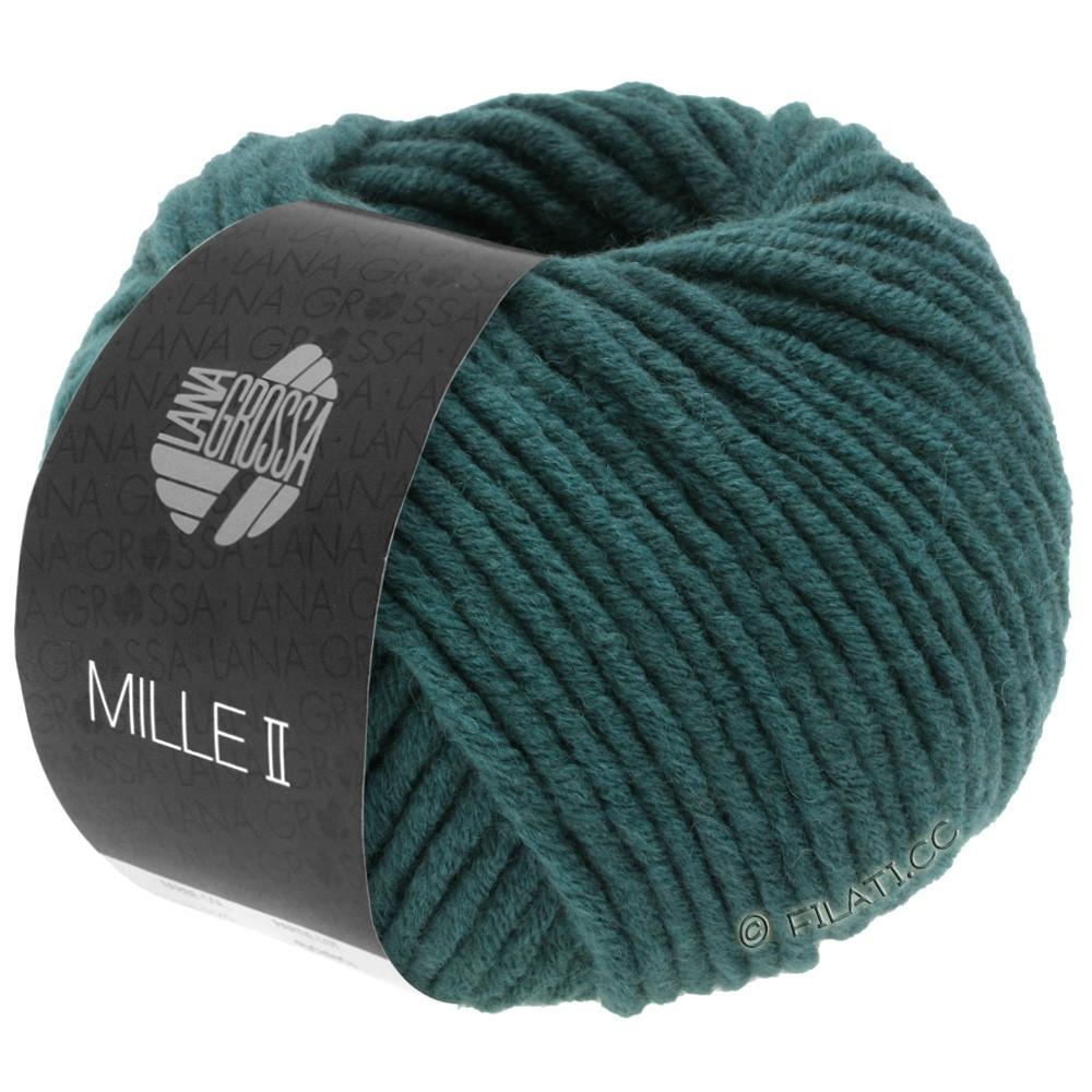 Lana Grossa MILLE II   091-blauwgroen